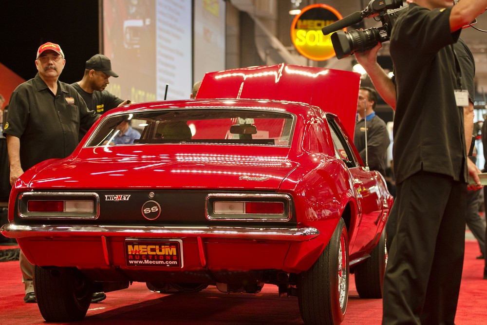 This 1967 Chevrolet Nickey/Bill Thomas 427 Stage III Camar… | Flickr