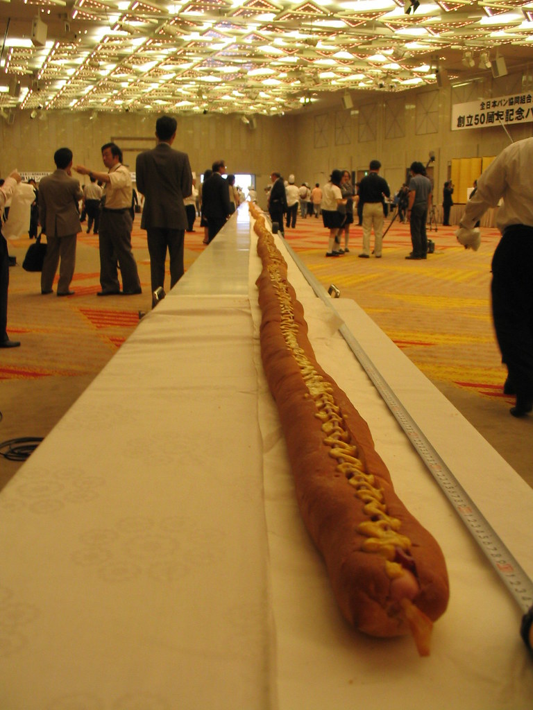 The Biggest Hot Dog