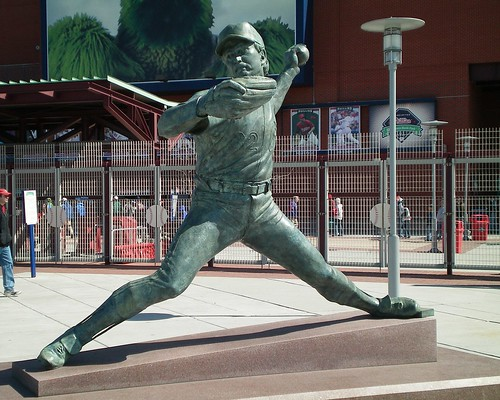 "Steve ""Lefty"" Carlton statue at Citizens Bank Park 