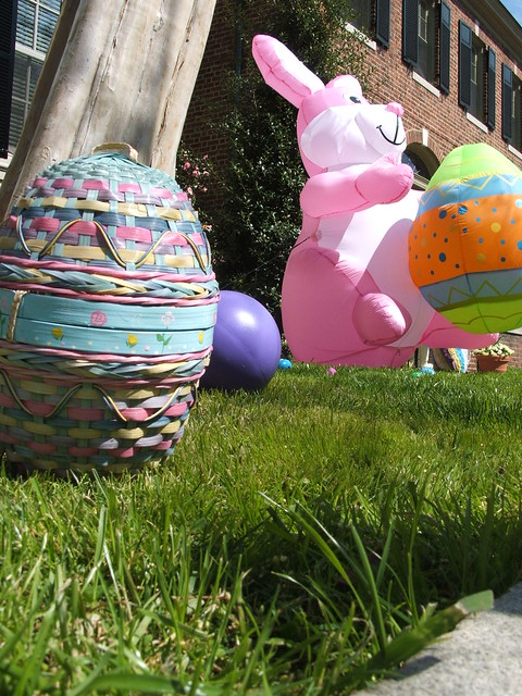 Easter yard decorations flickr photo sharing - Outdoor easter decorations ...