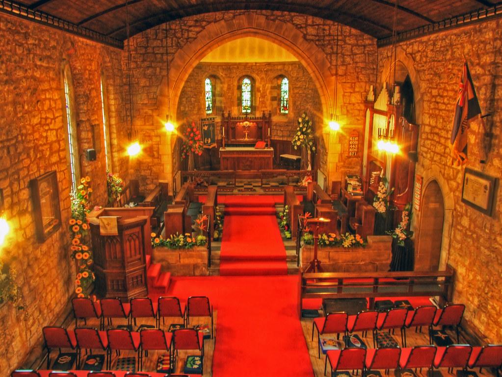Inside St George S Church Aka The Red Devil S Church