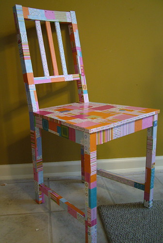 Artsy Chair | by Quilted Cupcake