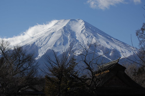 "Mt.Fuji from ""oshino hakkai"" 