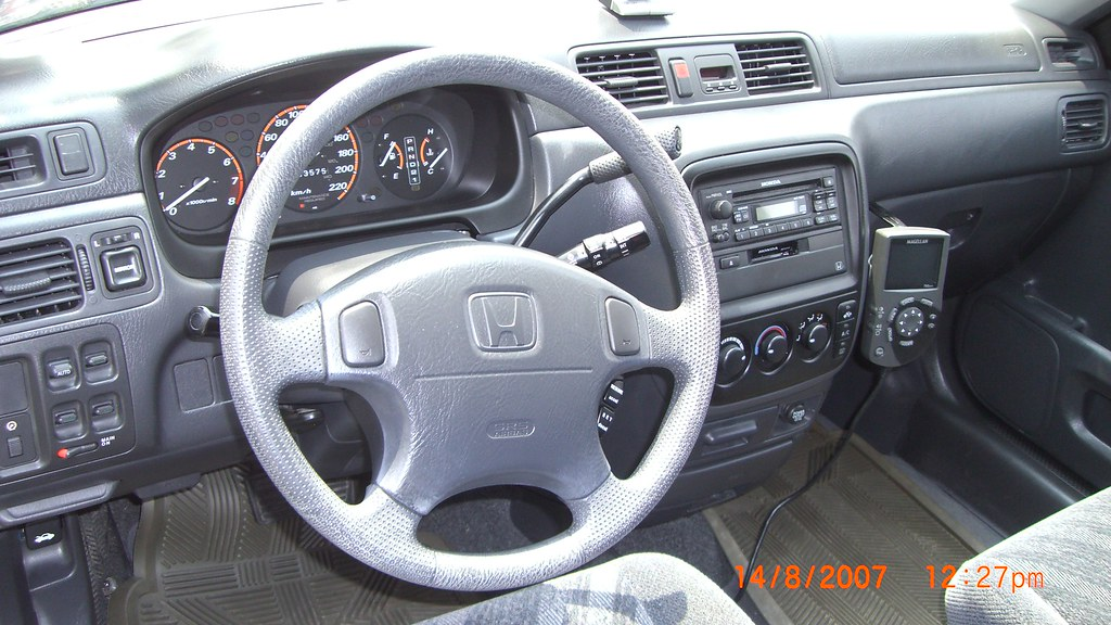 1999 Honda Crv Interior And Dash Interior Dashboard Of The Flickr