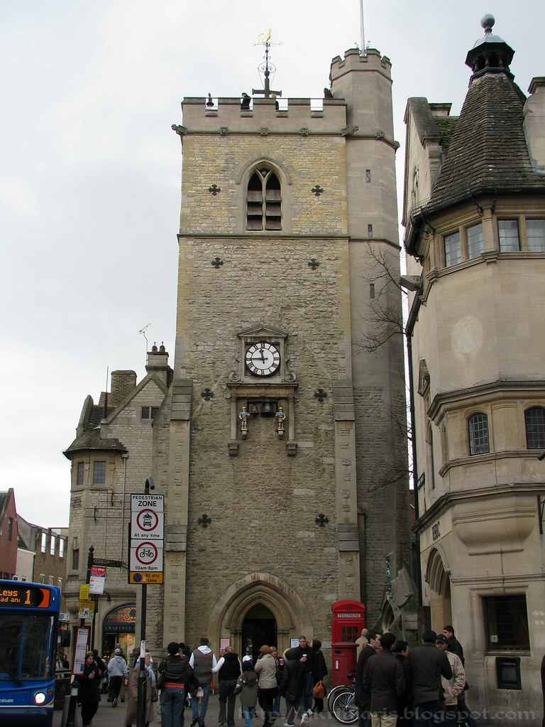 Carfax Tower, Oxford, UK.