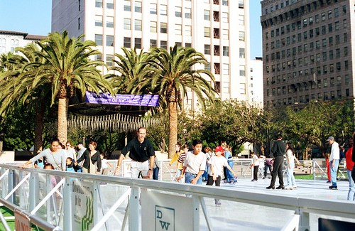 pershing square ice rink pershing square is the most hideo flickr. Black Bedroom Furniture Sets. Home Design Ideas