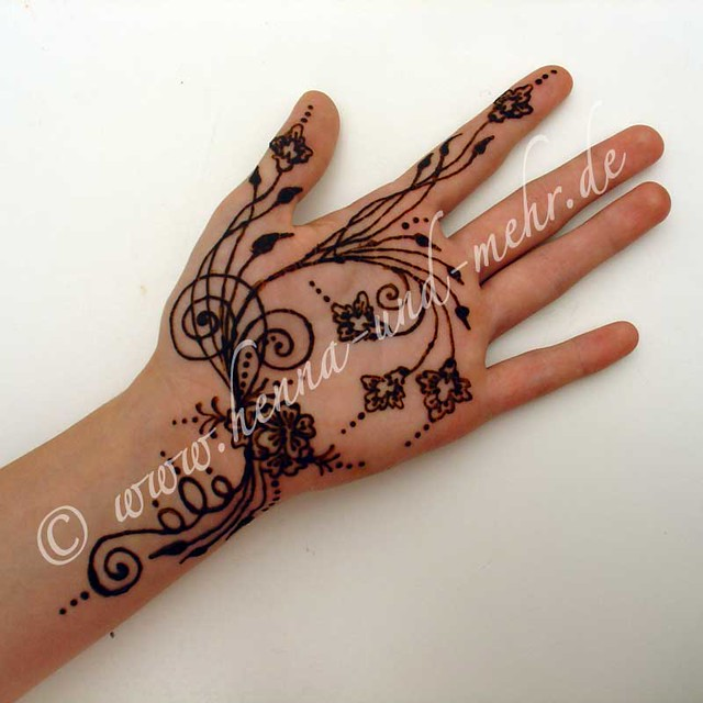 Naksh Or Mehndi I Did At The Qatar German Open Henna Or Me Flickr