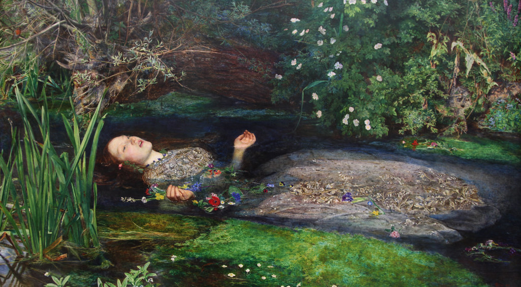 Ophelia - Sir John Everett Millais, 1851–2 | The scene ...
