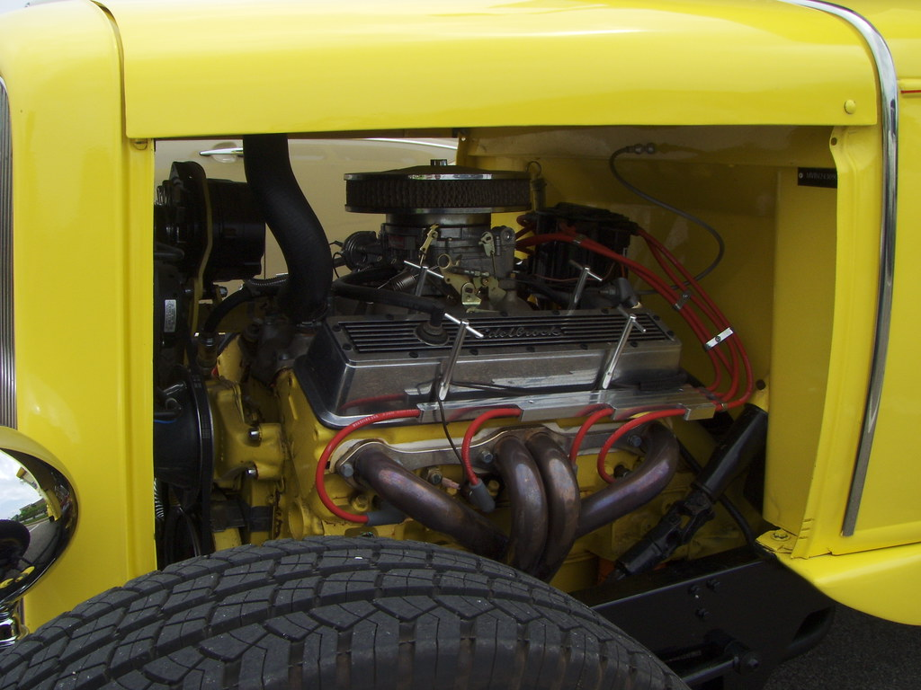 1931 Ford Model A Kit Car With Chevy 350 Motor And Transmi Flickr Engine Transmission By Cjp02