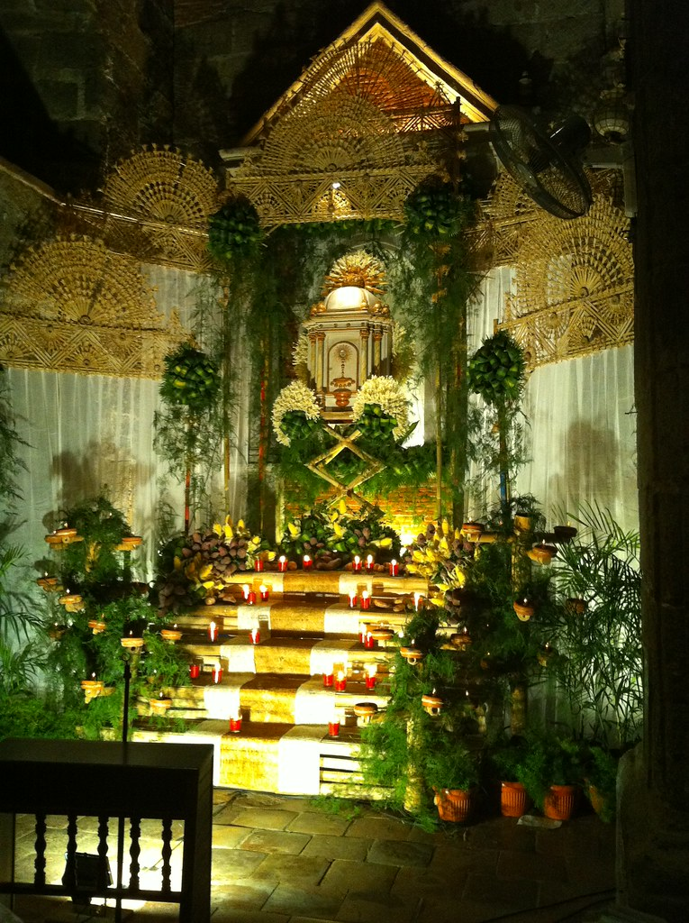 Altar of Repose | Holy Thursday St. Josephs (Bamboo Organ
