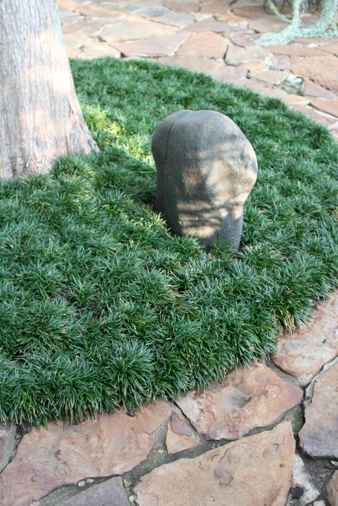 Dwarf Mondo Grass And Flagstone Patio At Mcmayhill Amp Baker