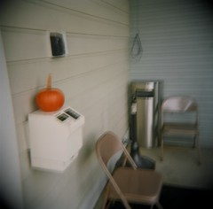 smoker's den with pumpkin | sbknite | Flickr