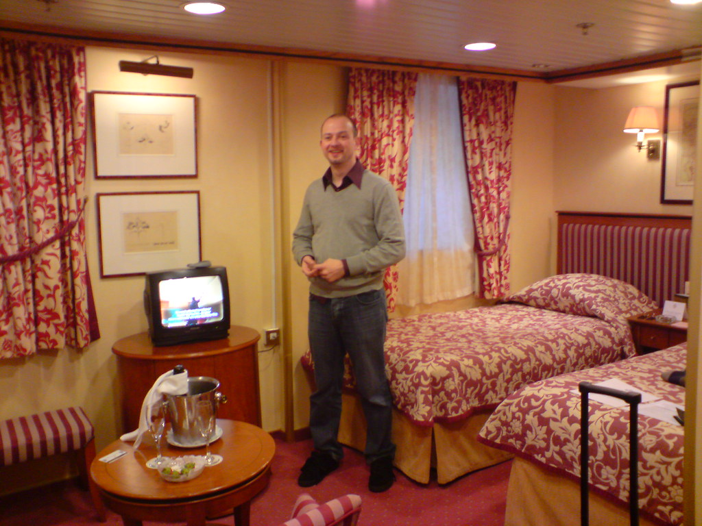 Our Qe2 Cabin Cabin 2154 On The Qe2 Created In 1999
