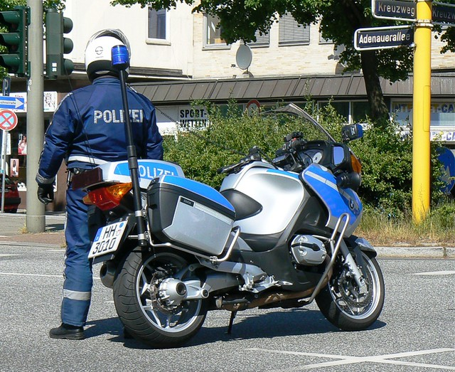 hamburg polizei motorrad krad bmw motorcycle of hamburg flickr. Black Bedroom Furniture Sets. Home Design Ideas