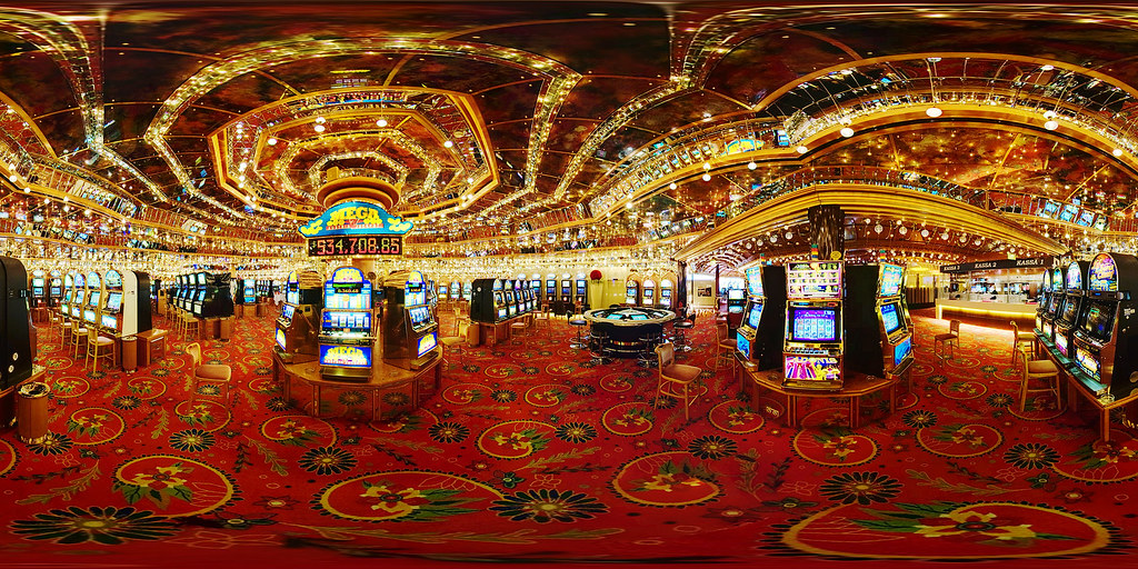 Casino Velden Panorama Taken During The Em 2008 Fire