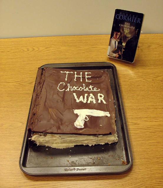 essays book chocolate war Stuck writing about a the chocolate war book essays find thousands of free the chocolate war book essays, term papers, research papers, book reports, essay topics.