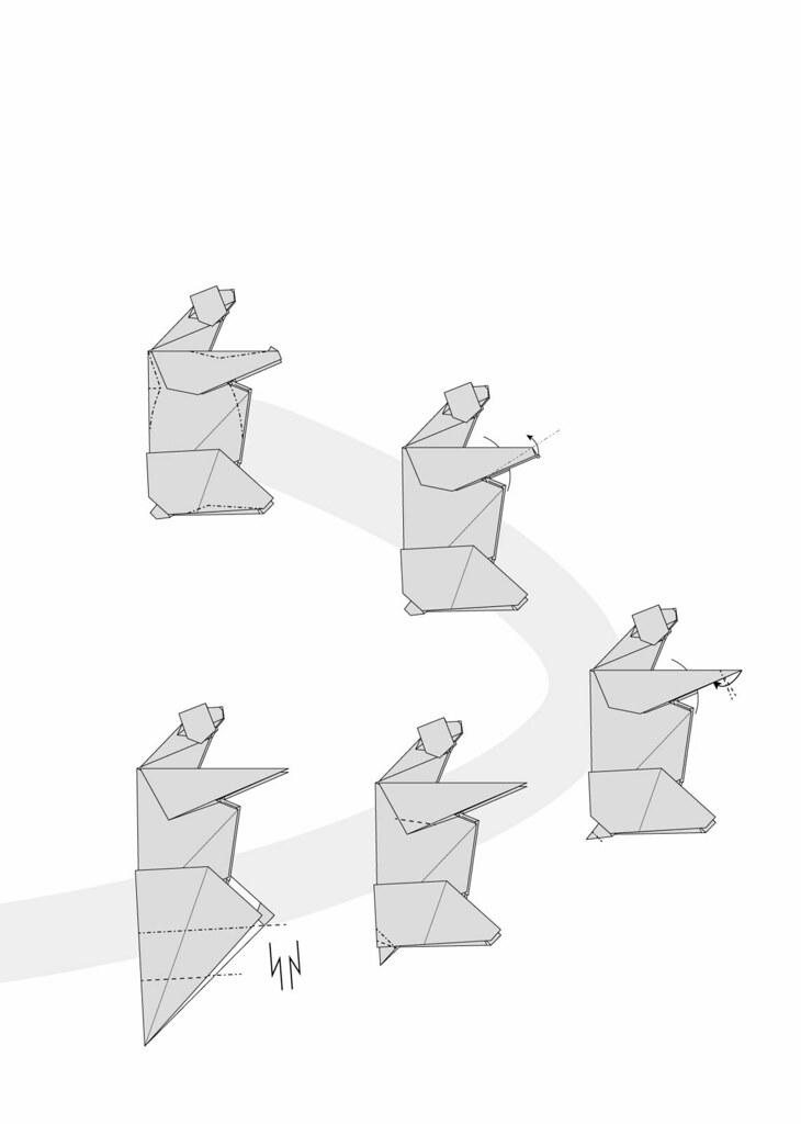 Origami Bear Diagram Polar Bear Diagram 06   Flickr