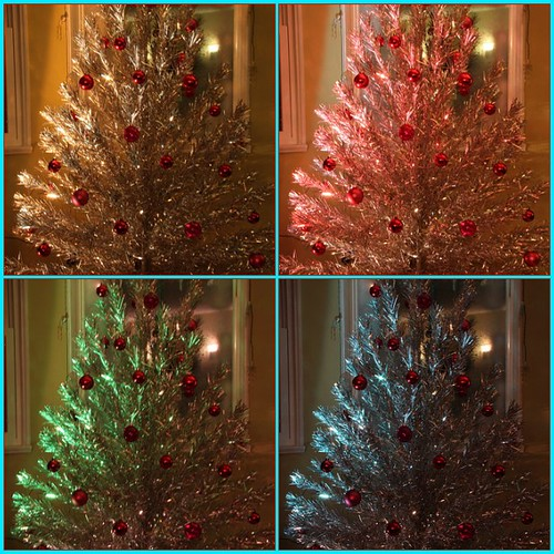 Tinsel Tree And Color Wheel 1 Www Flickr Com Photos Daram Flickr