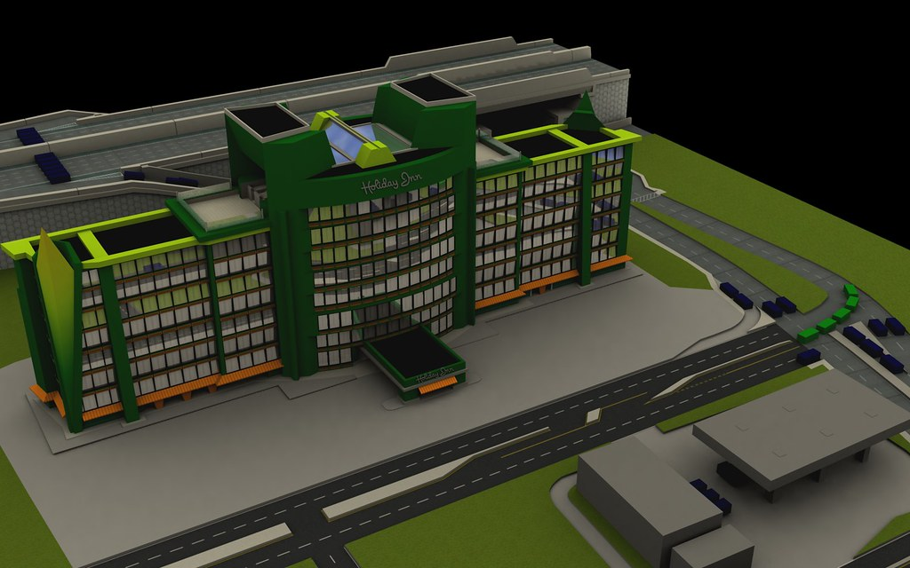 3D City - Holiday Inn Render | This is the Holiday Inn build