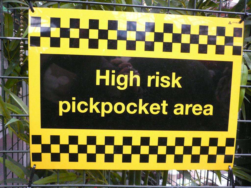 High Risk Pickpocket A...