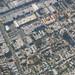 Above urban Huntington Park, Los Angeles County, California