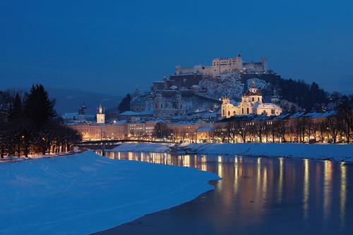 Invierno en Salzburgo