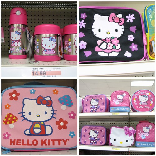 Hello Kitty Toys At Target : Hello kitty lunchboxes mostly at target one is from