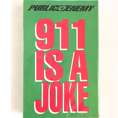 PUBLIC ENEMY:911 IS AJOKE(JACKET A)