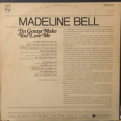 MADELINE BELL:I'M GONNA MAKE YOU LOVE ME(JACKET B)