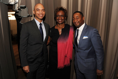 Barron Channer, Dorothy Terrell, & Franklin Sirmans at Fourth Annual Reception for the PAMM Fund for African American Art
