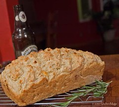 feta beer bread | by kitchenmage