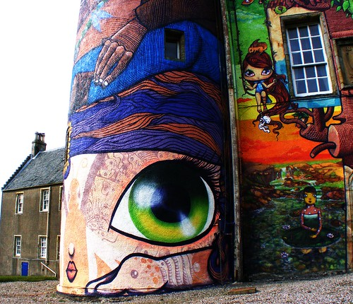 Kelburn Castle Graffiti Detail | by Tim Kirman Photography