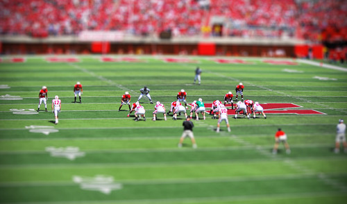 Tilt Shift Football | by fadeddays