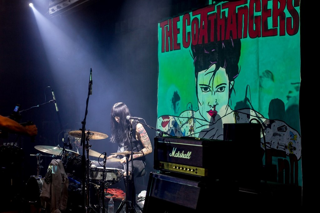 Geared Up: The Coathangers Drummer Stephanie Luke Talks