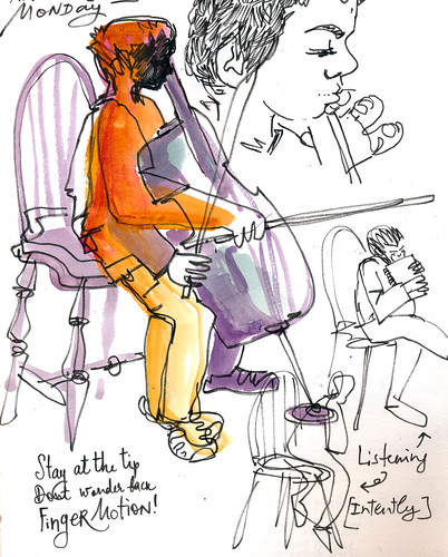 Sketchbook #101: Cello