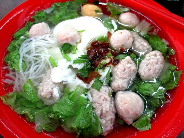One Cent pork ball noodles 1