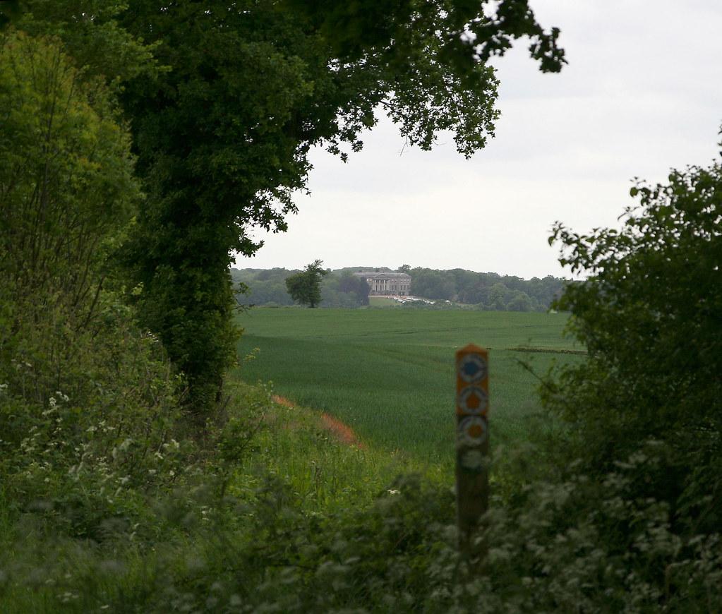 Ragley Hall Residence Modern Dwellings Cablik Enterprises: Ragley Hall From Near Oversley Castle, Warwickshire 15 May