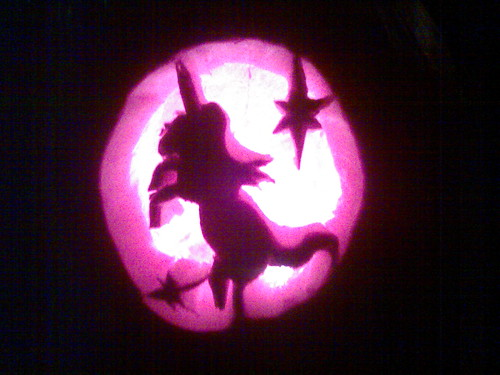 Mary s unicorn pumpkin taken at pm on october