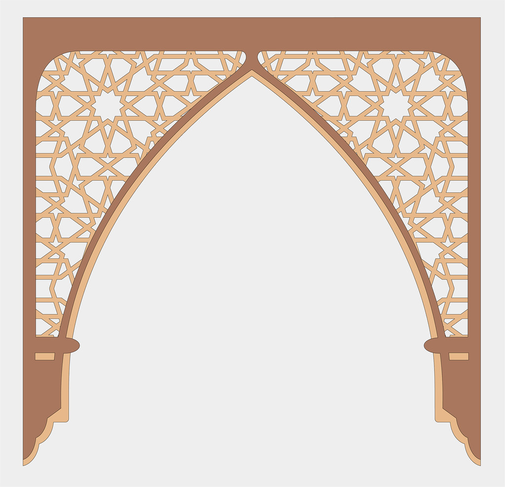 Islamic Arch 34 Quot X 34 Quot Will Be Cut From Three Pieces Of