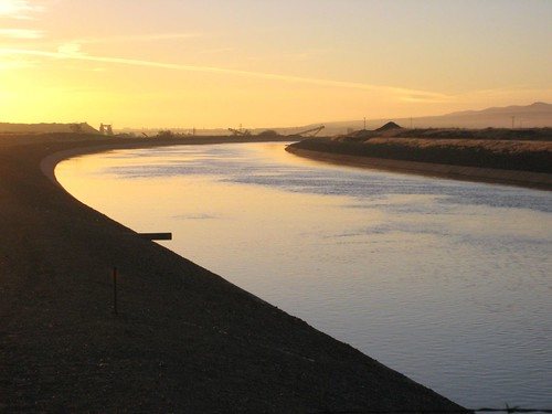 California Aqueduct at Dawn | by sfbaywalk