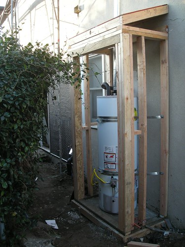 Water Heater Shed 1 19 08 This Is More Exciting Than
