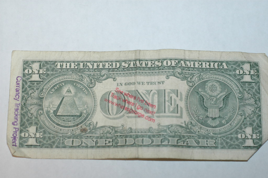 one dollar wheres george chris flickr