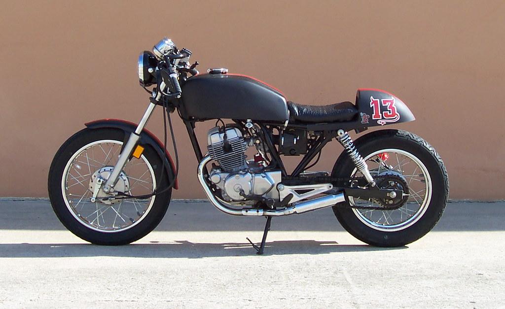 Cafe Racer 001 Crash Course Flickr