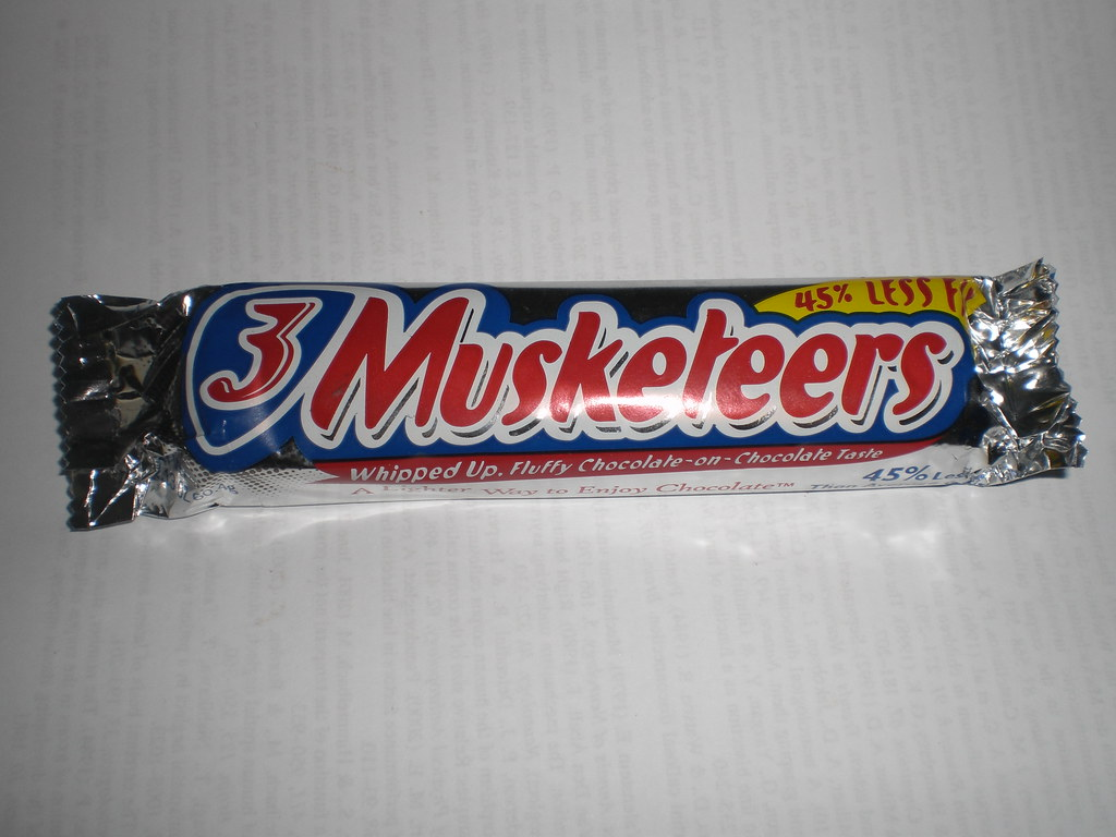 Image result for 3 musketeers candy