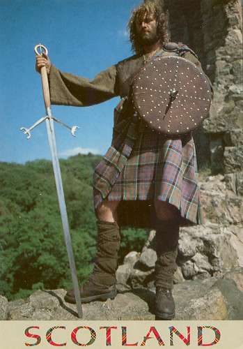 "Scottish Warrior | ""With a studded - 155.4KB"