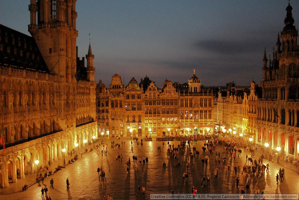 Belgique, Grand Place de Bruxelles | [en] Belgium, The ...