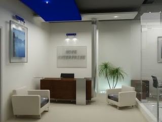 Office Reception Renovation Interior Design Interior