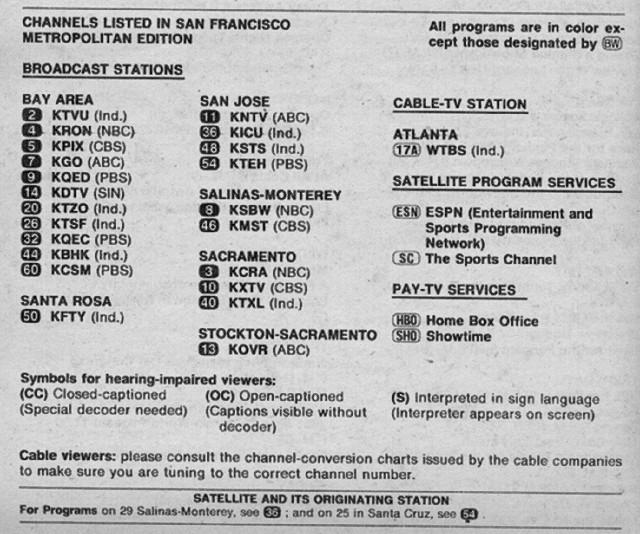San Francisco Metropolitan Edition September 12 1981