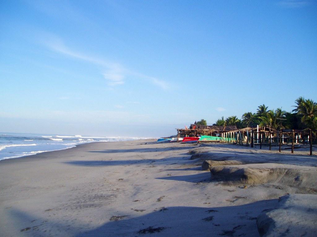 Playa Costa Del Sol La Paz El Salvador Moises Rivas