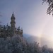 Fairy Tale Castle and Rainbow .   (I'm back home from Germany)